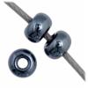 Czech Seedbead 11/0 Gunmetal Metallic Metallic